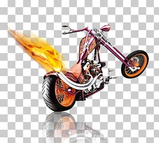 Motorcycle Bicycle Flame PNG