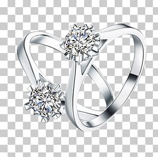 Wedding Ring Diamond Jewellery Earring PNG