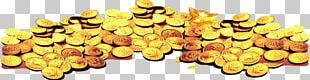Gold Coin Heap PNG