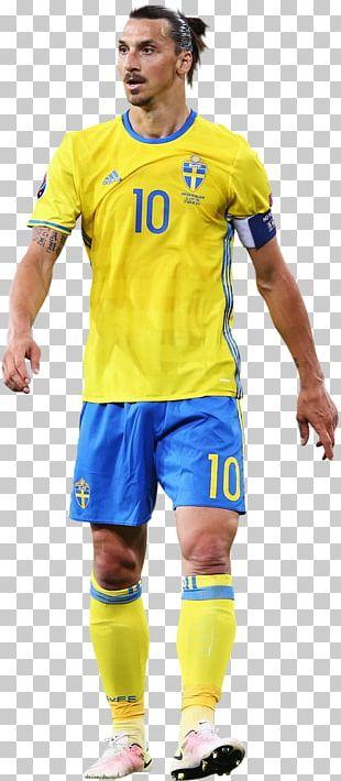 Zlatan Ibrahimović Jersey Sweden National Football Team Football Player PNG