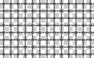 Black And White Monochrome Symmetry Pattern PNG