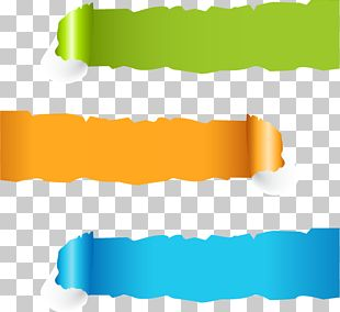 Paper Web Banner Page PNG