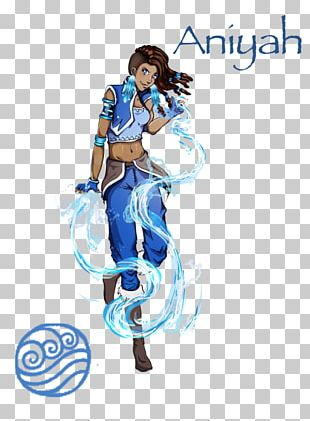 Water Tribe Character Fan Art Female Anime PNG