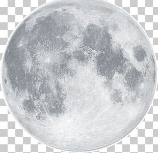 Earth Full Moon Lunar Phase Supermoon PNG