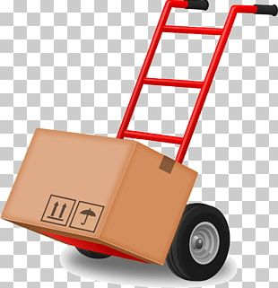 Mover Hand Truck Transport PNG