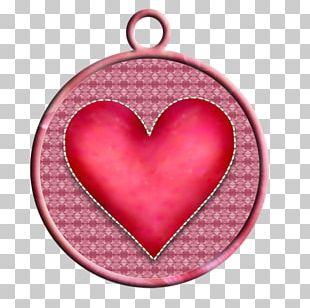 Christmas Ornament Pink M Locket RTV Pink PNG