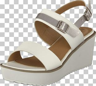 High-heeled Shoe White Blue Sandal PNG