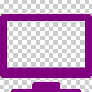 Television Computer Icons Purple PNG
