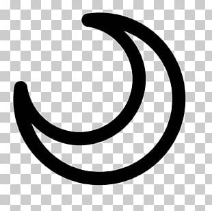 Crescent Symbol Drawing PNG