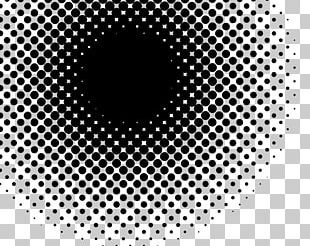 Halftone Black And White Stock Photography PNG