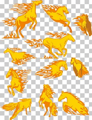 Horse Fire PNG