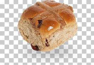 Hot Cross Bun Rye Bread Danish Pastry Pumpkin Bread Toast PNG