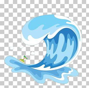 Wind Wave Cartoon Sea PNG