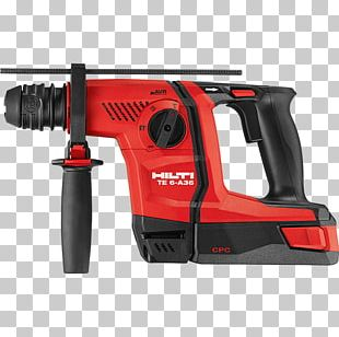 Hammer Drill Hand Tool Hilti Augers SDS PNG