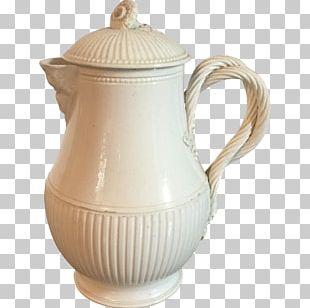 Jug Ceramic Pitcher Mug Creamware PNG