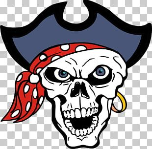 Piracy Skull Jolly Roger PNG