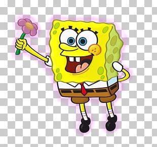 Sandy Cheeks Patrick Star Drawing Flower PNG