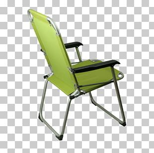 Folding Chair Armrest Camping Plastic PNG
