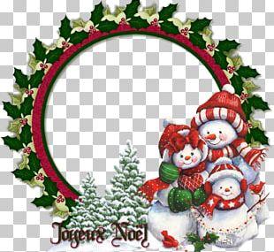 Santa Claus Christmas Day Snowman Christmas Tree PNG