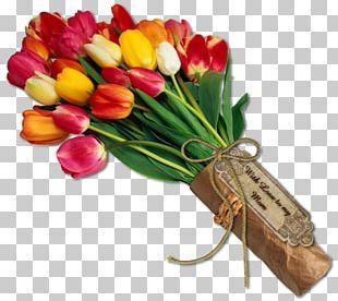 Flower Bouquet Tulip Desktop PNG