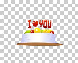 Birthday Cake Valentine's Day Gift Gratis PNG