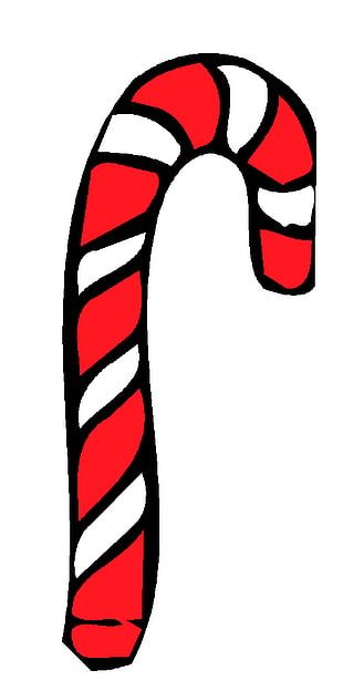 Candy Cane Candy Apple PNG
