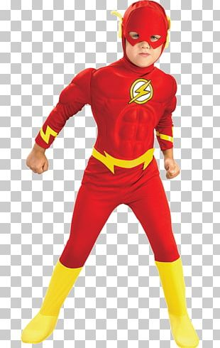 The Flash Halloween Costume Toddler PNG