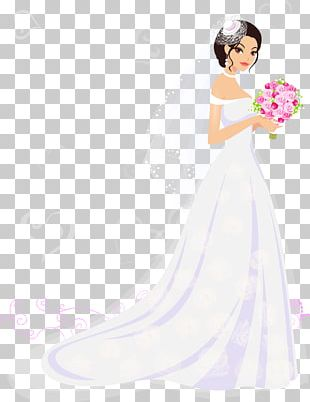 Bride Wedding Dress PNG
