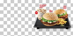 Cheeseburger Whopper Slider Veggie Burger Fast Food PNG