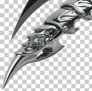 Dagger Knife Blade Gauntlet Weapon PNG