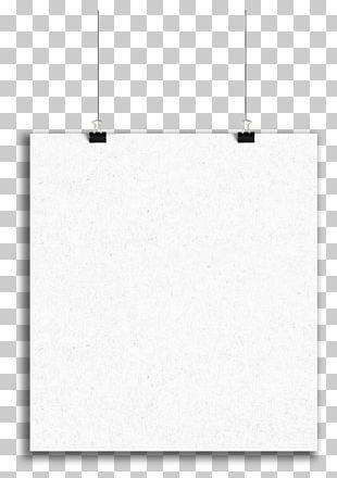 Paper White Black Pattern PNG