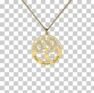 Locket Necklace Charms & Pendants Gold Jewellery PNG