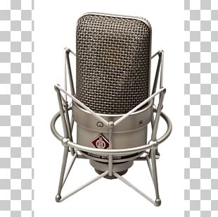 Microphone Neumann TLM 49 Georg Neumann Shock Mount Condensatormicrofoon PNG