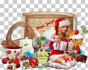 Food Gift Baskets Christmas Ornament Hamper Junk Food Toy PNG