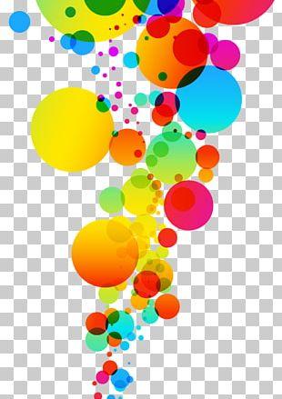 Color Bubble PNG