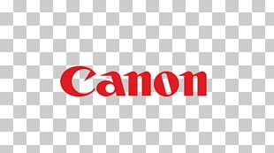 Logo Brand Canon Typography Digital SLR PNG