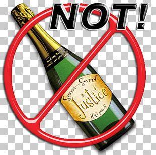 Beer Bottle Alcoholic Drink Label PNG