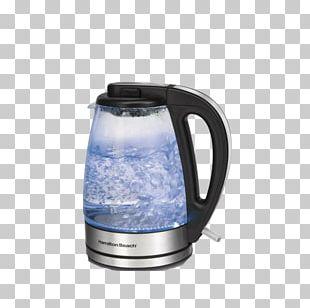 Electric Kettle Hamilton Beach Brands Glass Tea PNG