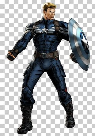 Captain America Marvel: Avengers Alliance Bucky Barnes Black Panther Iron Man PNG