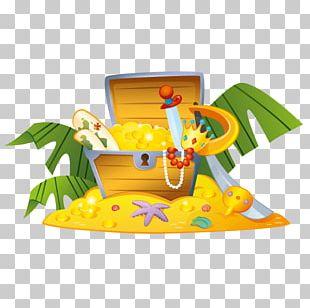 Sticker Buried Treasure Piracy Wall Decal PNG