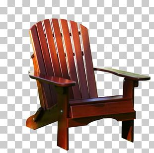 Adirondack Chair Furniture Wood Table PNG