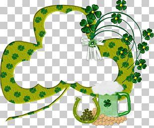 Saint Patrick's Day Irish People Shamrock PNG