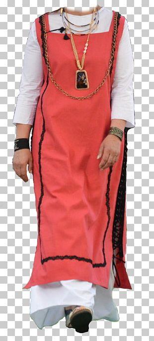 Costume Dress Peach PNG