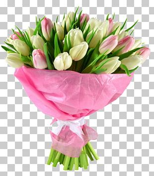 Flower Bouquet Tulip Cut Flowers Wedding PNG
