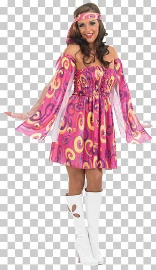 1960s 1970s Costume Party Clothing PNG