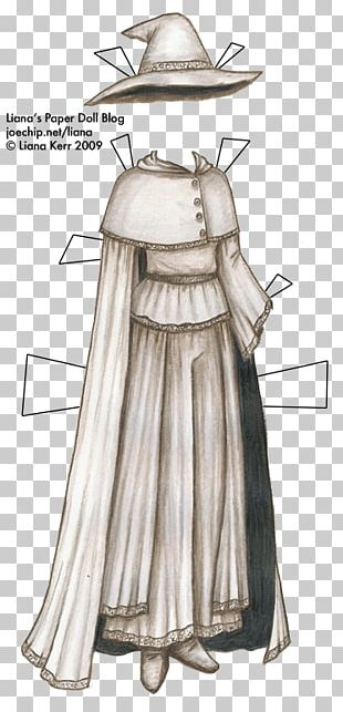 Robe Paper Doll Clothing Costume PNG
