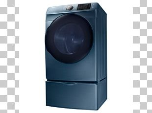 Clothes Dryer Washing Machines Laundry Home Appliance Samsung DV45K6200E PNG
