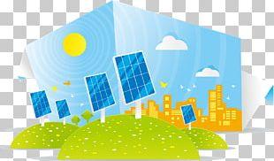 Solar Energy Solar Panel Illustration PNG