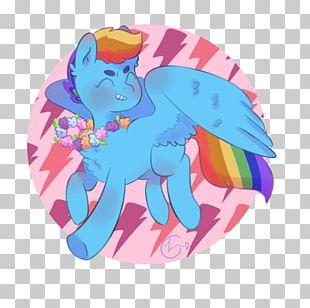 Horse Cartoon Animal Pink M PNG