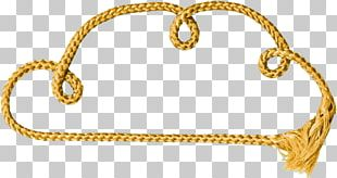 Rope Yellow PNG